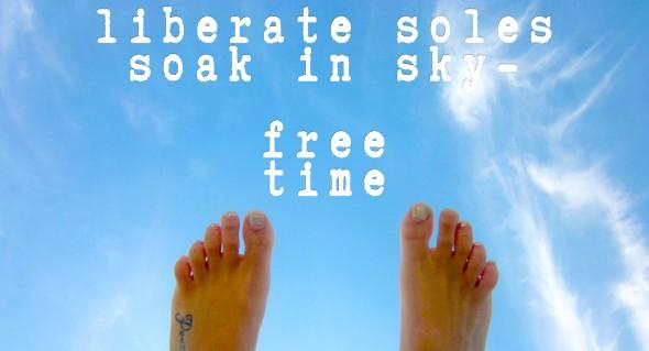 free time feet