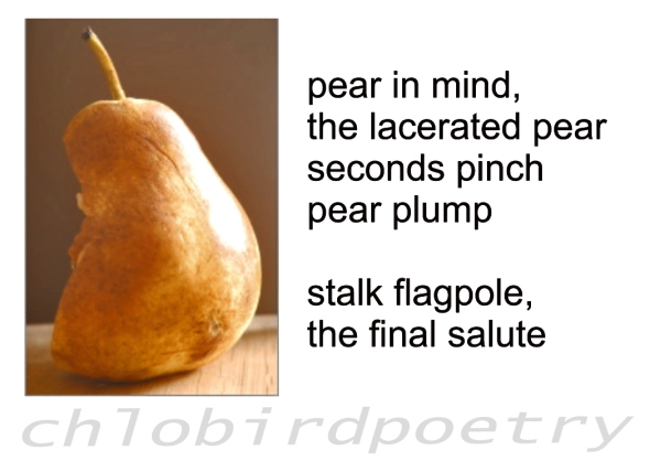The lacerated pear